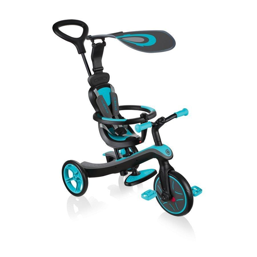 4in1 vaikiškas dviratukas – triratukas Globber